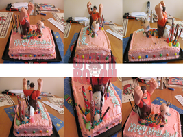 My Birthday Cake 2013 by DarkwingFan