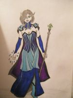 My Mage Sarena by mousey57