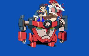 Mother,  Father And Son in Lagann by ltdtaylor1970