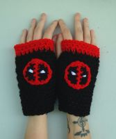 Deadpool Handwarmers by RebelATS