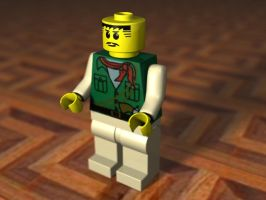 Lego Man 3D by ScaperDeage