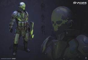 Character Concept by Davver