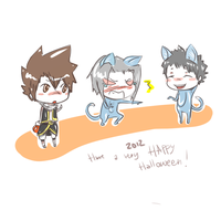 A 'Happy' Halloween (KHR) x3 by BeeTheVampire