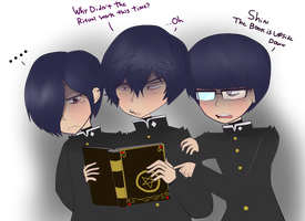 3 Occult Dorks by Cockleton