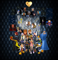 Kingdom Hearts Story (VII Lights vs XIII Darkness) by 9029561