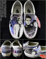 Blink-182 Vans by CrimsonVip3r