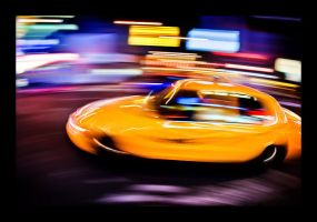 speed in the city III by PatrickWally