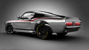 Mustang 1969 back by ryden-belgira