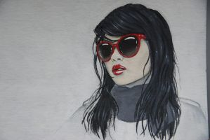 Red Sunglasses by Wheredidtheslothsgo