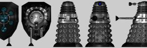 Standard special forces dalek by Slythenperior