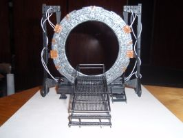 StarGate paper model 5 by BHAAD