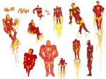 SOME FUCKIN IRON MAN DRAWINGS by MANeatingCLOTHES