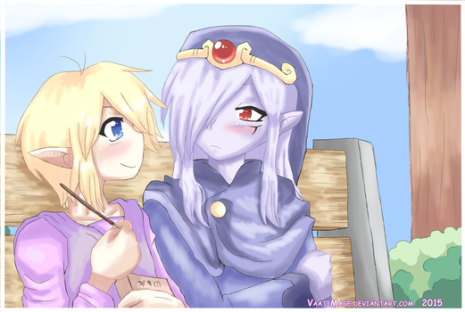 Do you want a pocky? + speedpaint by VaatiMage