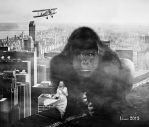 The return of King Kong by Julianez