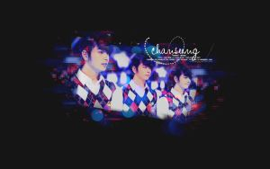 CHANSUNG_REDandBLUE_WALLPAPER by janin2pm