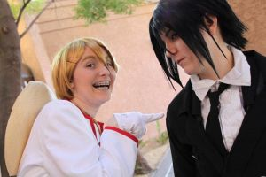 Black Butler - That Gardner, Poke by SuperWeaselPrincess