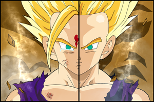 Two ways how a scene can be created!! by DBZArtist94