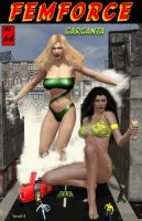 Femforce #64 by hotrod5