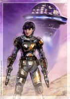 Space Merc by Art-deWhill