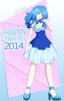 Happy New Year 2014 - 1 by xxSamChan