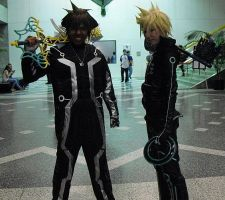 Tron Legacy Sora and Roxas by R-Legend