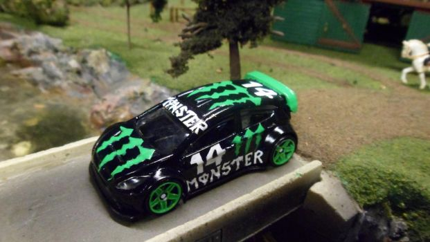 Monster Ford Ford Fiesta #14 by hankypanky68