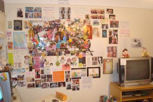 My Wall Has Grown by beginthebegin