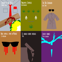 "6 Minimal Movie Posters ""round 2"" by rbl3d"