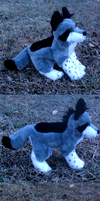 Thera Plush Commission Different views by VengefulSpirits