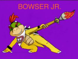 Bowser Jr. by Aura-Cat