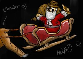 HOBOS and... reindeer O_o xD by Anuwolf