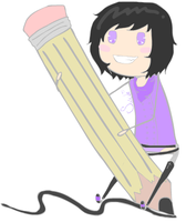 Giant Pencil by Art-M0nster
