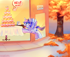 Fall Commission - sugarrush-pony by pekou