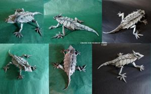 Horned Lizard. by YAGGOB