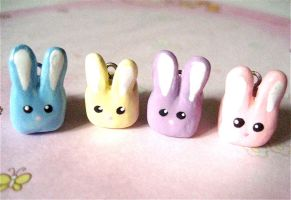 Square Bunnies by mAd-ArIsToCrAt