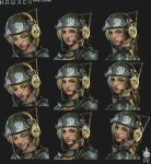 Hawken Laila Mechanic Facial Expressions by Zeronis