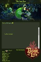 Journal Skin: BOL - Xibalba by TMNT-Raph-fan