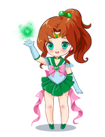 Sailor Jupiter by prywinko