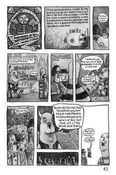 Somewhere in Hell.. pg 1 by Gothology