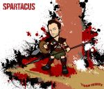Agron - Spartacus by toonseries