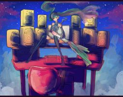 Hatsune Miku.Disappearence of. by Carico