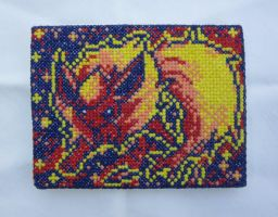 Flareon Cross Stitch by silverdragoness
