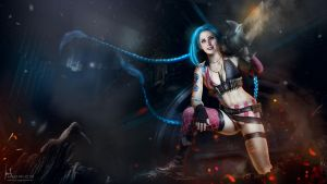 Jinx - League of Legends by Hidrico