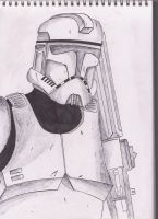 Clone trooper prototype by Funtimes