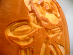 Luigi's Mansion Pumpkin Detail by ceemdee