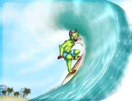 Surfer's spirit (AT) by SMASH-ii