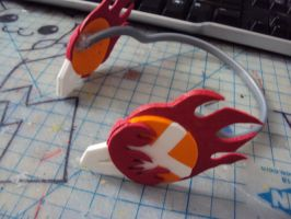 KHR Tsuna Headphone by xfoxtails