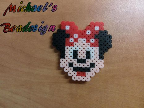 little minnie mouse by Beadesign by Bead-design
