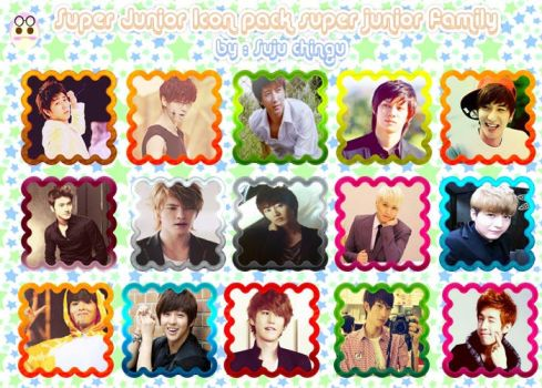 Super Junior family Icon Folder by SujuChinguII