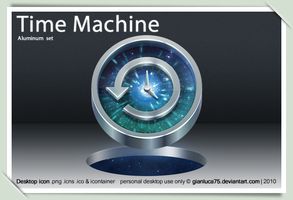 Time Machine replacement icon by GianlucaDivisi
